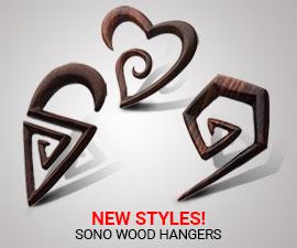 NEW STYLES!(SONO WOOD HANGERS-WPL900-WPL901-WPL904)